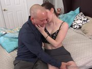 Ember Stone Makes Husband Eat a Cumshot