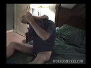 Amateur Mature Man Dave Beats Off