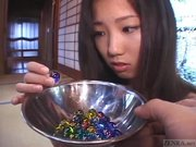 Subtitles Japan CMNF schoolgirl marble play
