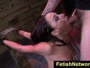 FetishNetwork Ava Kelly begs for bondage