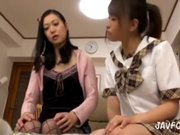Asian Schoolgirl Makes Teacher Lesbian Pet Part 31