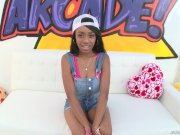 Brittney White Young Ebony Teen