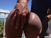 Big Tits Ebony Queen Katt Garcia Receives Anal Sex on Brown Bunnies