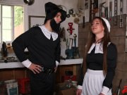 Alice Lighthouse Chokes On Cock