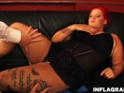 Bbw Redhead Anja Mieze Loves A Good Fucking