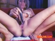 Milf Cunt Need Your Help To Turn-on OMBLIVE Vibe To Be MORE WET
