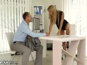 Czech Boss gets 2 Creampies from Employee