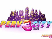 PervCity Alison and Sarah Anal Team Up
