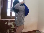 Petite amateur 21 year old refugee in my