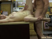 Fucked in flower store and young blonde by
