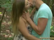 Dane Jones Natural tits Serbian teen takes lovers fat cock in forest sex