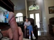 Flash cock to wife's mother