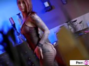 Pornstar Tease - Felicity Feline big boobs, big booty and tight wet pussy