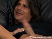 Mature Cock Sucking Slut Couch Fucked