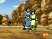 Toph gives a blowjob