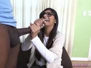 Xxx teen threesome Mia Khalifa Tries A Big