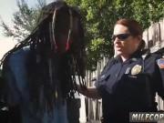 Milf rough sex and ebony police Black