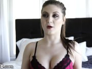 Throated Jojo Kiss Wants You To See Her Gag